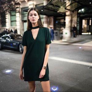 2/$60 🐚 Zara Choker Mini Dress